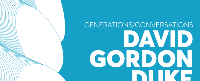 Generations/Conversations David Gordon Duke
